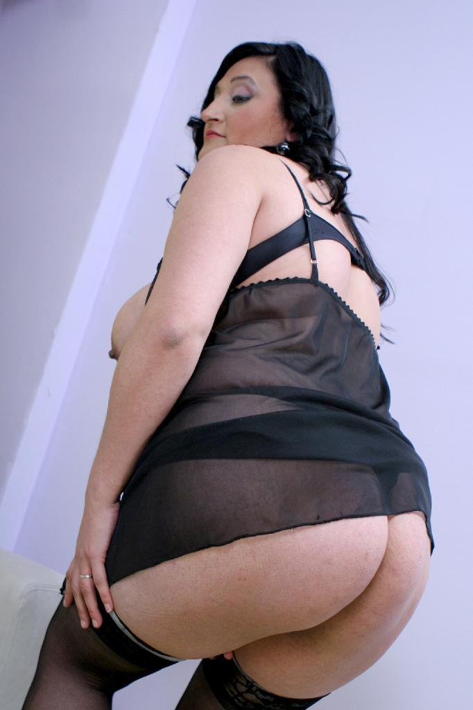 Cock Spanked BBW Claudia