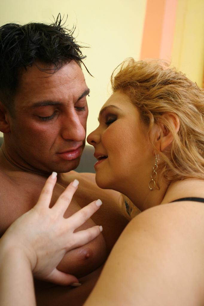 BBW Luana Cummed In Breast
